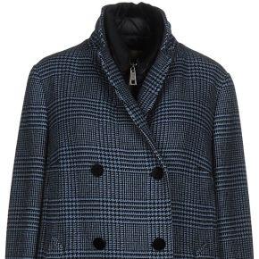 Manteau long fay femme. bleu pétrole. s...