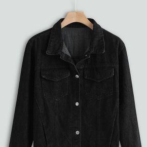 Veste femme womens casual jean veste manteau...