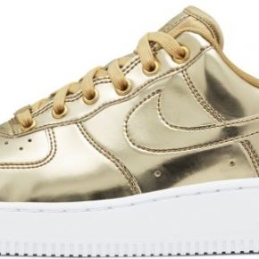 Chaussure nike air force 1 sp pour femme - or
