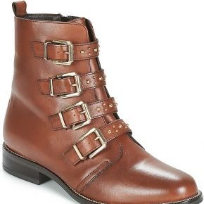 Boots femmes andré today marron solde