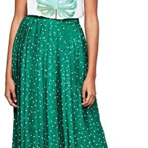 Find. jupe mi-longue plissée femme, vert...