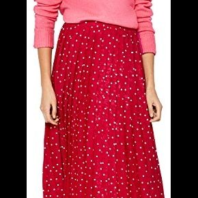 Find. jupe mi-longue plissée femme, rouge...
