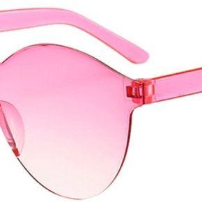 Femmes hommes lunettes de soleil rétro claires...