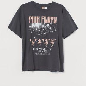 H & m - h & m+ t-shirt imprimé - gris