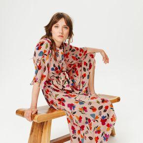 Robe fleurie femme - imprimé écru - 36 - promod...
