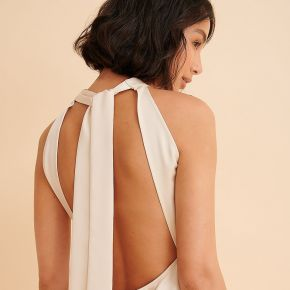 Curated styles recyclée robe cache-coeur en...