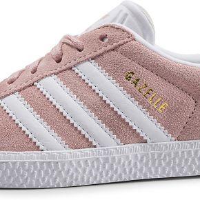 Adidas gazelle enfant rose pâle baskets